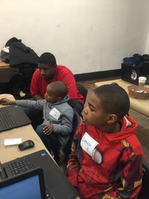 The Carnegie Science Center in Pittsburgh hosted students from the Homewood YMCA for a Fab Lab workshop with Kelvin Beachum.