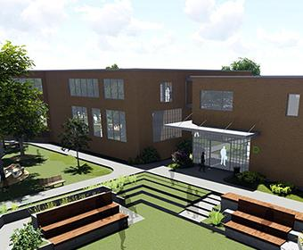 rendering of CAST Tech High School