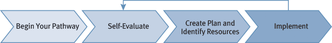 Carnegie STEM Excellence Pathway Flowchart
